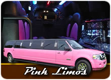Pink Limousines And Prom Limos